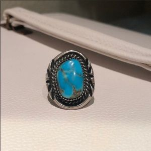 Jewelry - Navajo Sleeping Beauty Turquoise Ring 💙